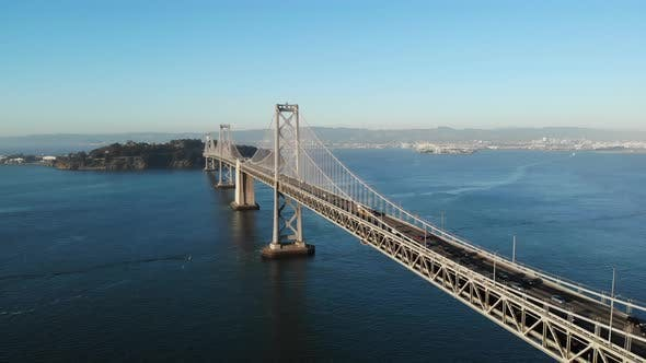 Bay Bridge In San Francisco