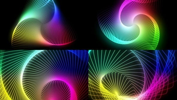 Thumbnail for Colorful Swirl Structures