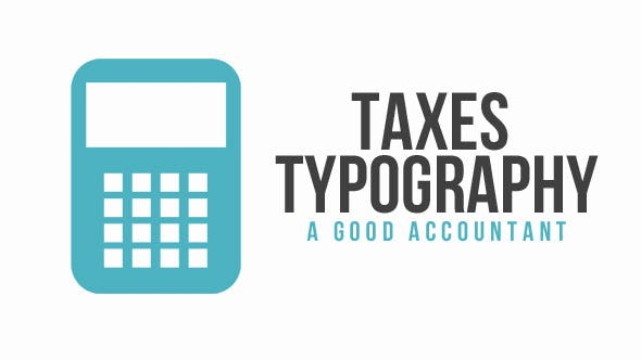 Thumbnail for Taxes Typography