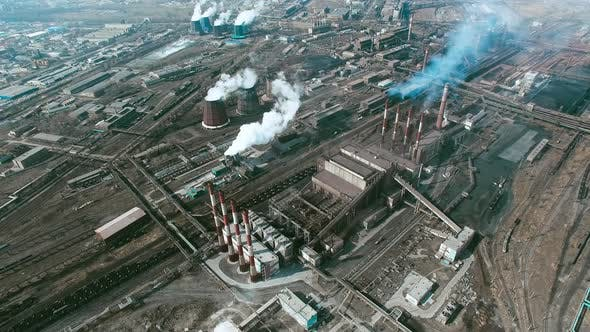 Thumbnail for Aerial of Industrial Zone