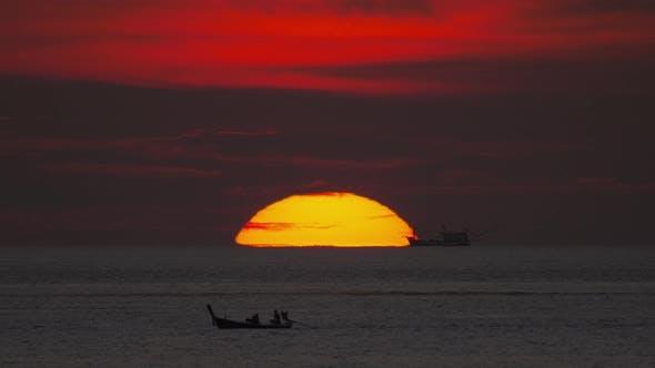Thumbnail for Sunset Landscape at Phuket