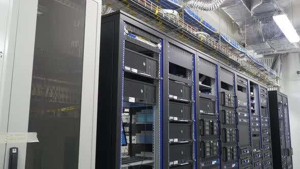 Many Powerful Servers Running