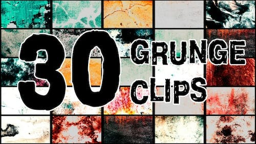 Grunge Clips Pack