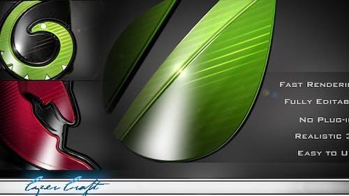 Fast 3D Logo Intro Maker