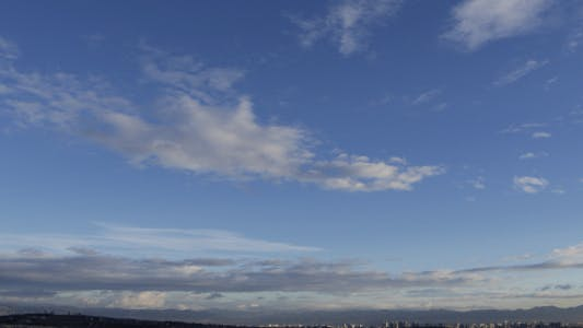 Cover Image for Clouds Over The City