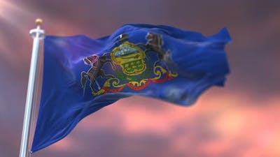 Pennsylvania Flag, United States