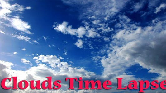 Thumbnail for Coulds Time Lapse 3