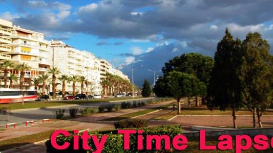 Stadt Zeitraffer