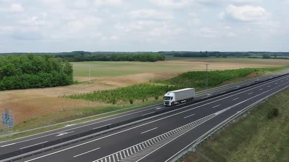 Thumbnail for White Truck Cargo