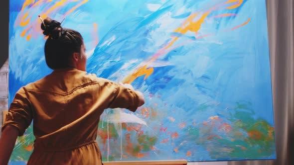 Innovative Female Painter