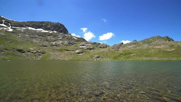 High Altitude Plateau Lake