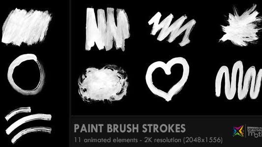 Thumbnail for Paint Brush Strokes