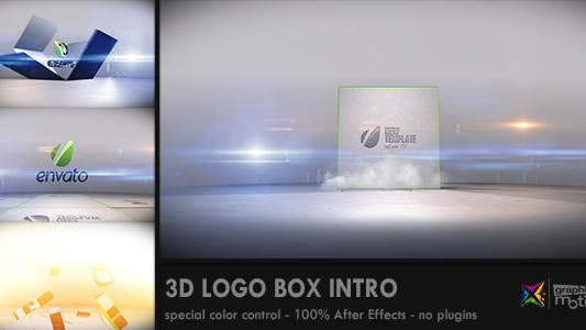 Cover Image for 3D Logo Box Intro