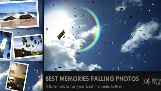 Thumbnail for Sunny Falling Photos Slideshow