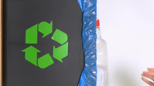 Thumbnail for Distribution of Waste for Recycling at Home. A Vertical Video.