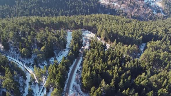 Abandoned Olympic Track For Bob And Sledding In Sarajevo