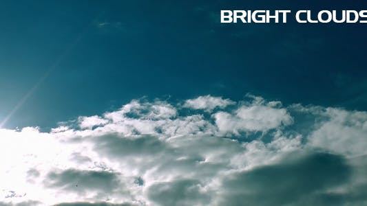 Thumbnail for Bright Clouds Time Lapse
