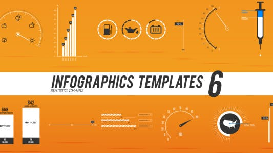 Thumbnail for Infographics Templates 6