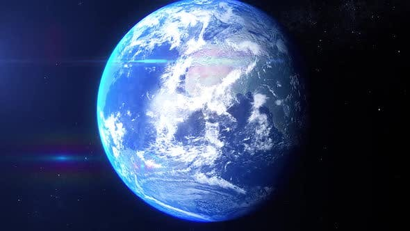 Thumbnail for Realistic Earth Zoom Central Canada