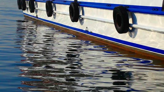 Thumbnail for Ferryboat And Its Reflection On The Water