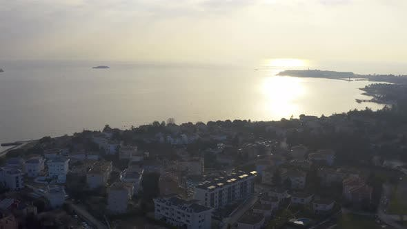 Thumbnail for Istanbul Maltepe Bosphorus Aerial View 3
