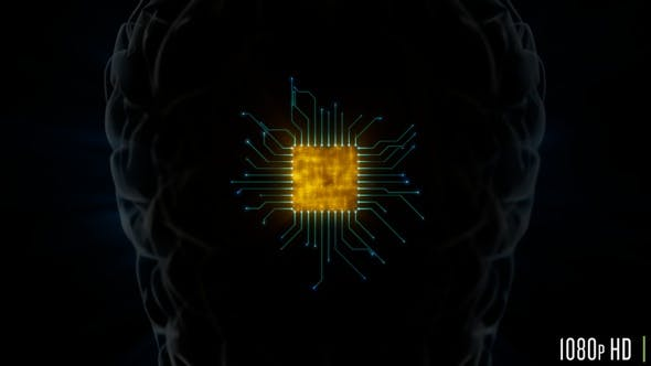 Brain Microprocessor Hardware with Connections Concept for Artificial Intelligence Zoom Out