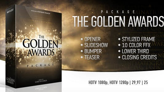 Thumbnail for The Golden Awards Package