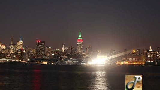 Thumbnail for New york City Sunset Full HD