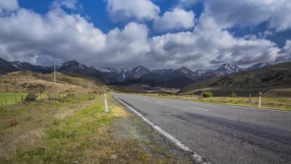 Road to Arthurs Pass New Zealand