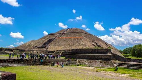 Teotihuacan, Mexico City, Ancient Aztec Pyramids