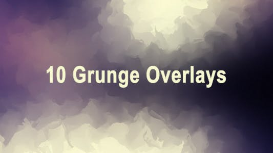 Thumbnail for 10 Grunge Overlays