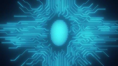 Biometric fingerprint scan technology