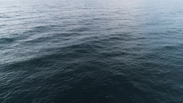 Thumbnail for Top View Of Blue Sea Ripples