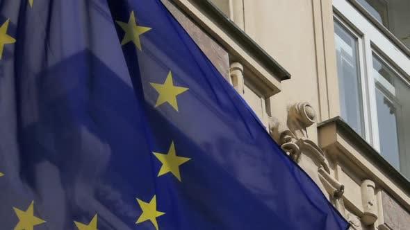 Thumbnail for EU Flag - Old Building