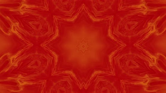 Thumbnail for Abstract kaleidoscope with red and orange colors, mosaics, abstract backgrounds, mandalas.