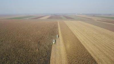 Harvest Aerial Shot