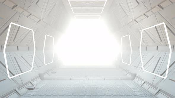Thumbnail for Flying Through Corridor 02 4K
