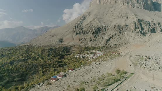 Thumbnail for Diyarbakir Mountains And Village Aerial View