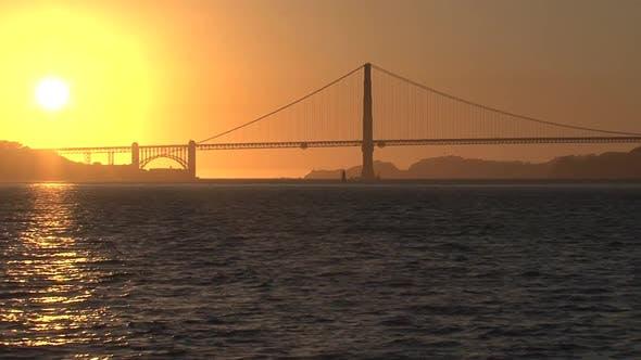 Thumbnail for Sunset the Golden Gate Bridge