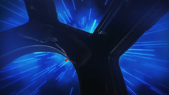 Thumbnail for Abstract Hyper Jump in Outer Space on a Spaceship