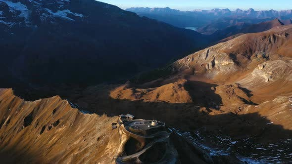 Thumbnail for Aerial View Of Edelweissspitze Viewpoint