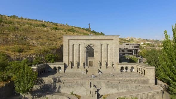 Thumbnail for Aerial View of Mesrop Mashtots Institute of Ancient Manuscripts