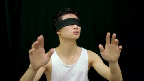Hallucination Korean People Blindfolded Sects