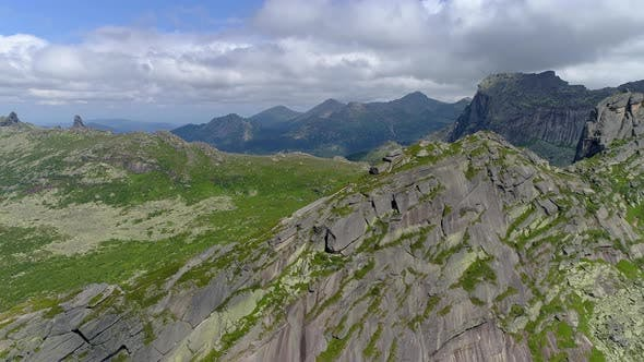 Thumbnail for Mountain Landscape from Drone