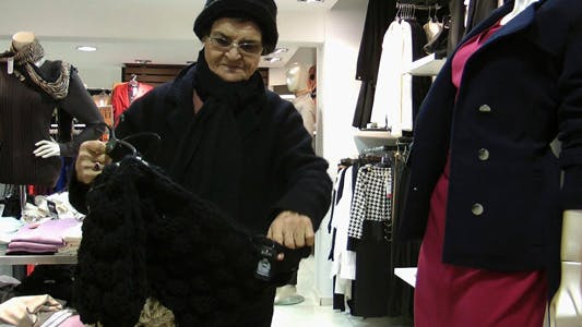 Thumbnail for Old Woman In The Store 3