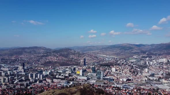 Thumbnail for Aerial View Of Sarajevo City   2