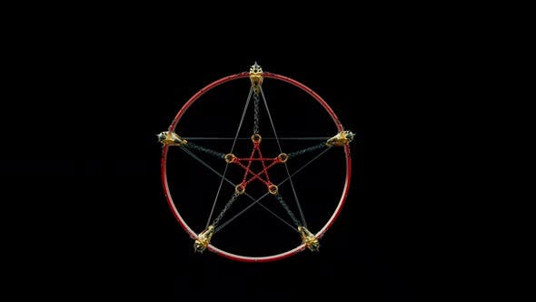 Baphomet Pentagram Symbol