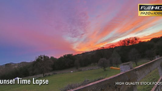 Thumbnail for HDR Sunset Time Lapse
