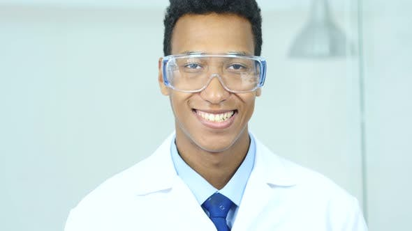 Thumbnail for Smiling Afro-American Scientist, Doctor