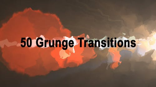 Grunge Transitions (50-Pack)